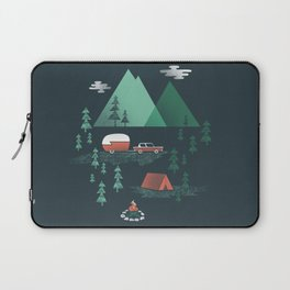 Pitch a Tent Laptop Sleeve