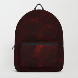 Romantic Red Pattern for Love and Horror Backpack