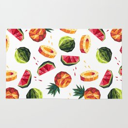 Edgy Tropical Mix Rug
