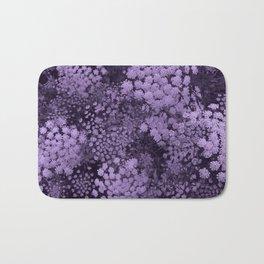 Purple Laceflower Bath Mat