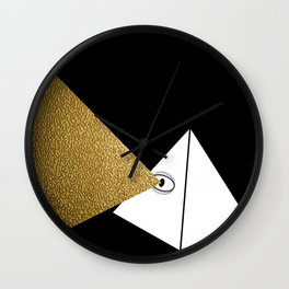 Mind's Eye (Limited Edition Gold Beam) Wall Clock
