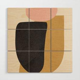 Abstract Shapes 34 Wood Wall Art