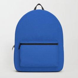 True Blue - solid color Backpack