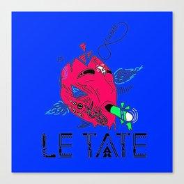 ZEN ATTITUDE BY LE TATE Canvas Print