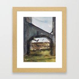 Building No. 2 Framed Art Print