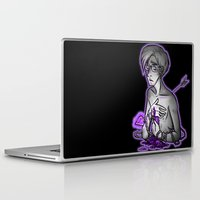 asexual Laptop & iPad Skins featuring Ace of Spades by Kieran Thompson