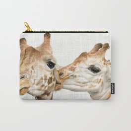 Smoochin' (Square Format) Carry-All Pouch