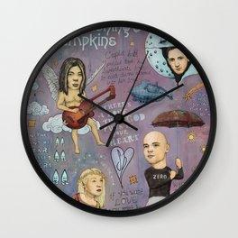 The Pumpkins - Spaceboy's Mellon Collie Dream Wall Clock