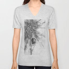 The Web and The Weaver Unisex V-Neck