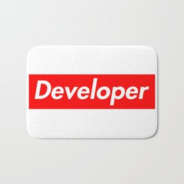 Developer - Programmer supreme Bath Mat