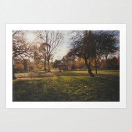 Victoria Park  Art Print