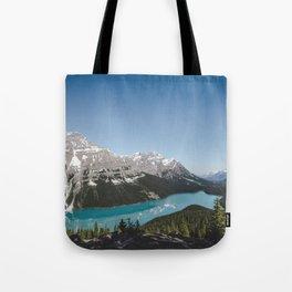 Peyto Lake Landscape | By Magda Opoka Tote Bag