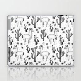 Llama Llamarama + Cactus 2 Laptop & iPad Skin