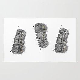 Owl Line Rug