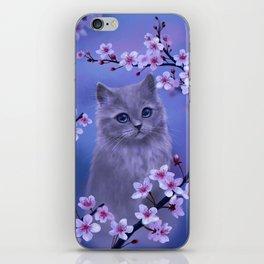 Spring kitten iPhone Skin