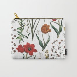 ramdom flowers Carry-All Pouch