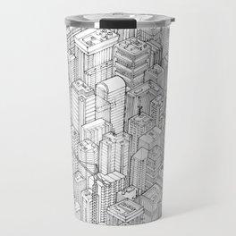 Isometric Urbanism pt.1 Travel Mug