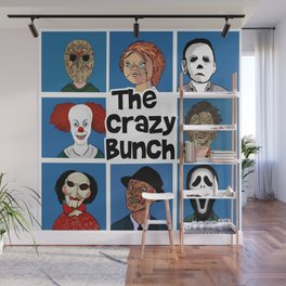 The Crazy Bunch Wall Mural