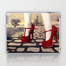 Follow the yellow brick road Laptop & iPad Skin
