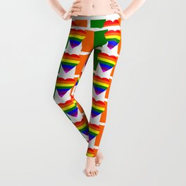Ireland Gay Wedding Leggings