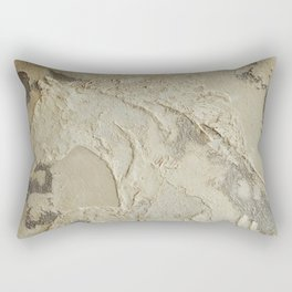 Horse in Stone Rectangular Pillow