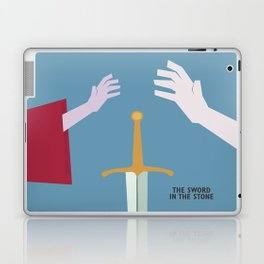 The Sword in the Stone - Movie Poster - Penguin Book version Laptop & iPad Skin