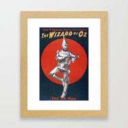 The Tin Man Framed Art Print