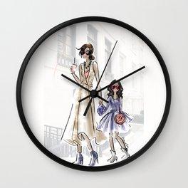 Stylish Mini Me Wall Clock