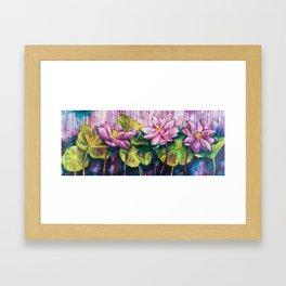 Bali Lotus #3 Framed Art Print