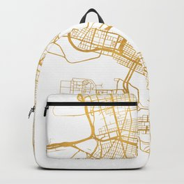 OAKLAND CALIFORNIA CITY STREET MAP ART Backpack