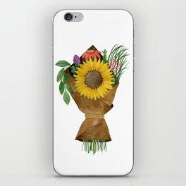 Market Flowers iPhone Skin
