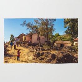 Village of Madagascar Rug