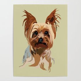 It's A Yorkie Poster