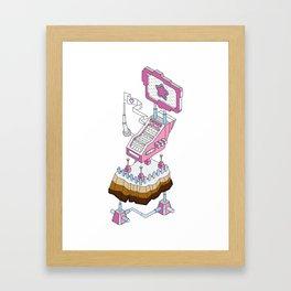 ornament_factory_2 Framed Art Print