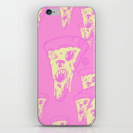 Zombie Pizza iPhone Skin