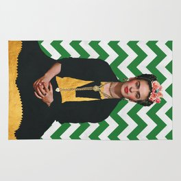 Frida Kahlo Photography I Rug