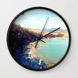San Simeon Bay Wall Clock