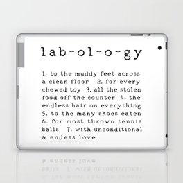 Lab-ol-o-gy Quote Laptop & iPad Skin