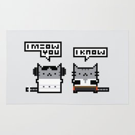 I Meow You - Cat Wars Rug