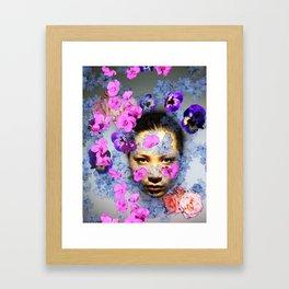 Floral Portrait 1 Framed Art Print