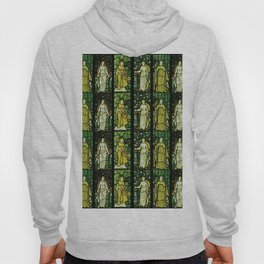 """William Morris """"Four seasons"""" (Dining Room at Cragside House, Northumberland, UK) Hoody"""