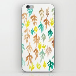 180726 Abstract Leaves Botanical 21 iPhone Skin