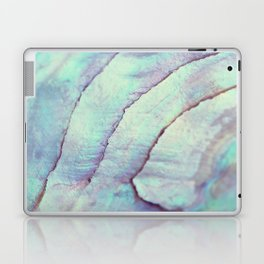 IRIDISCENT SEASHELL MINT by Monika Strigel Laptop & iPad Skin