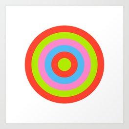 Target IX Art Print