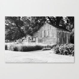 Old Barn in Illinois Canvas Print