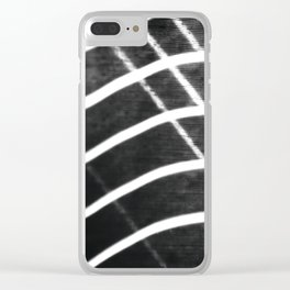 Light and wind when playing Clear iPhone Case