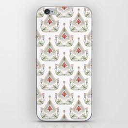 Geometric pattern . Colorful art Deco . No. 60, iPhone Skin