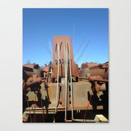 Willow and Generator (Merry Christmas Mine Part IV) Canvas Print