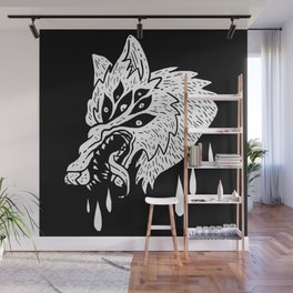 Hungry Eyes Wall Mural