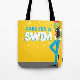 care for a swim? Tote Bag